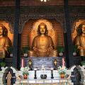 3 Bouddhas de 20m
