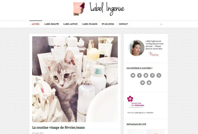 Label ingenue