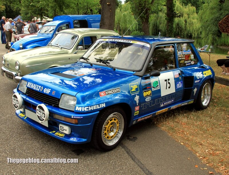 Renault 5 turbo 2 (Retrorencard aout 2013) 01