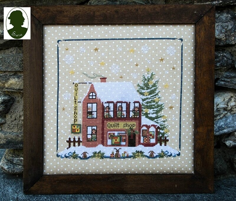quilt shop (christmas avenue)