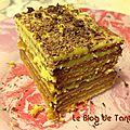 Gâteau des familles (aux biscuits thé brun de lu)