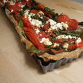 Tarte à la grecque, pâte à tarte de loukoum