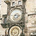 Pragues, horloge astronomique (République Tchèque)