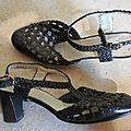 C179 : sandales cuir tressé 60's p.37