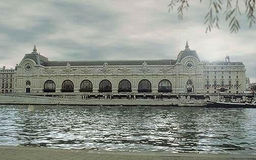 Musée d'Orsay - Depuis la rive droite de la Seine