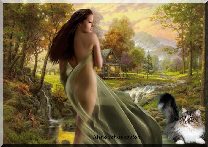 Femme d'automne par Minouchapassion
