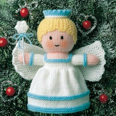 Knitting Patterns Christmas Novelties : Traduction ange de noel - Jean Greenhowe - LES CREATIONS CCC80