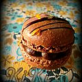 MACARONS CHOCOLAT CLMENTiNE