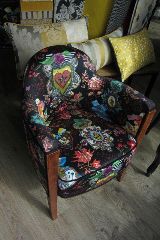 changer le tissu d'un fauteuil