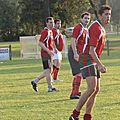 Beer : rugby à v contre saint aubin du médoc en novembre 2013