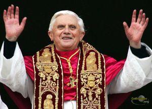 RATZIGER-Pape Benoît XVI
