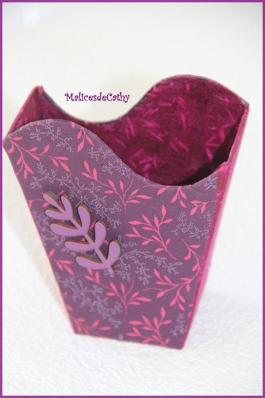 corbeille violette