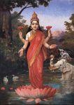425px-Ravi_Varma-Lakshmi