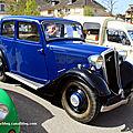 Mathis type M4L de 1935 (7ème bourse d'échanges autos-motos de Chatenois) 01