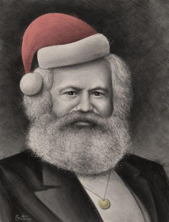 BenHeine_Karl_Marx_Christmas