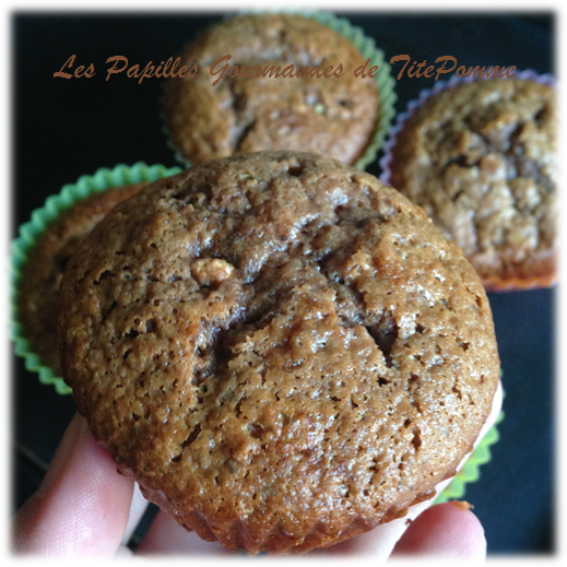 muffins choco passion noisette