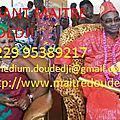 grand medium voyant doudedji +229 95389217