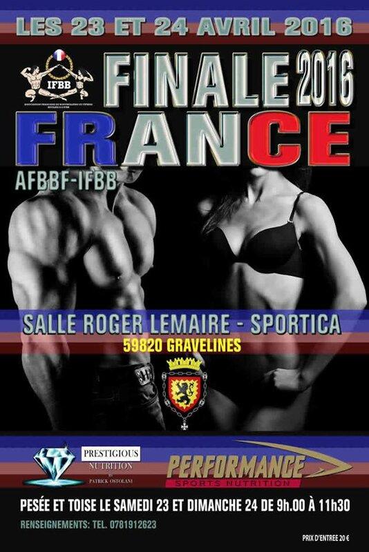 Finale France IFBB
