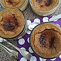 Crèmes caramel-coco