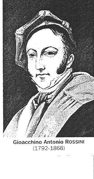 rossini (gioacchino) 1792-1868 italie