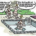 La piscine...