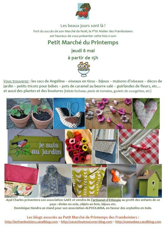 invitation Pt marché Printemps FACEBOOK