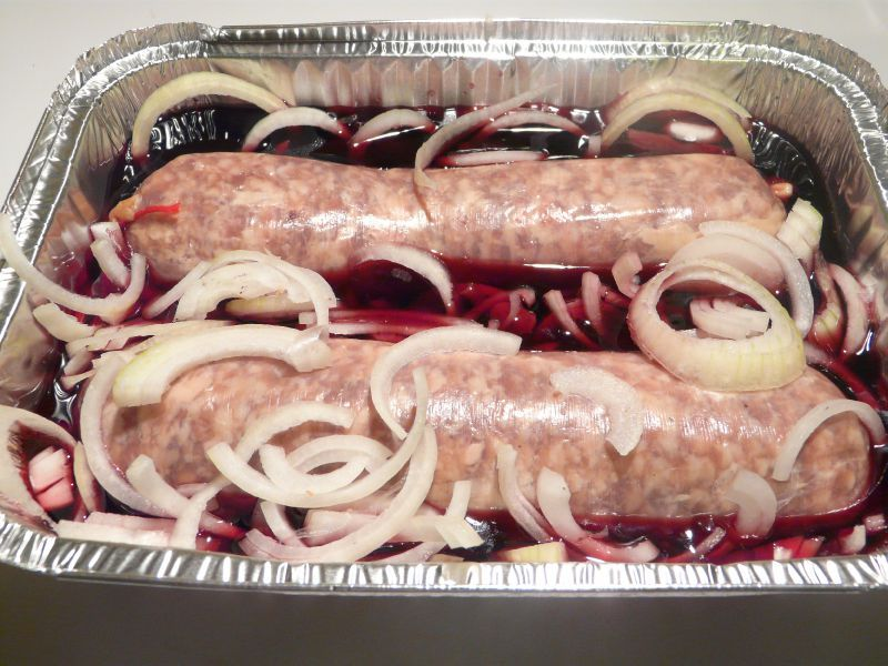 18 Spécialités régionales - Nord-Dauphiné - Saucisson au vin rouge sur barbecue 2