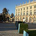Parc de la pepiniere et jardin du palais du gouverneur . nancy