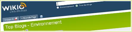 wikio_environnement