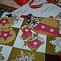 Biscuits de noël : episode 9 : biscuits amandes cannelle...