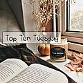 Top ten tuesday # 76