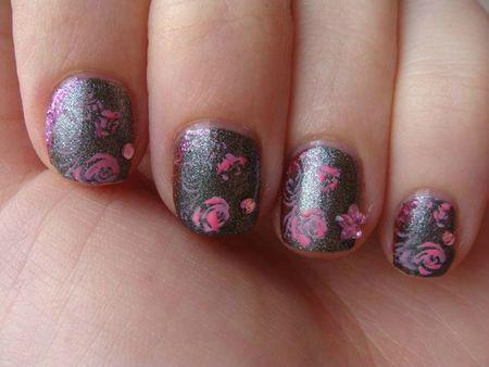 Nail art avec Lucerne-Taintly Look Marvelous de O