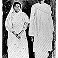 1905 - gandhi veut l'indépendance du continent indien