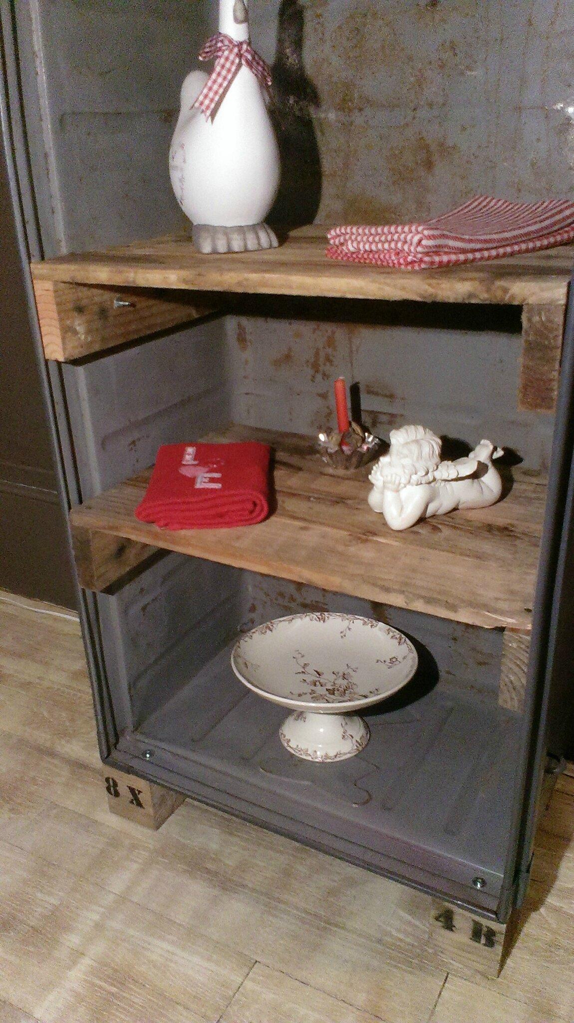 factory indus style faire revivre les objets oublies. Black Bedroom Furniture Sets. Home Design Ideas