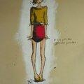 illustration je sais j'ai des grandes jambes