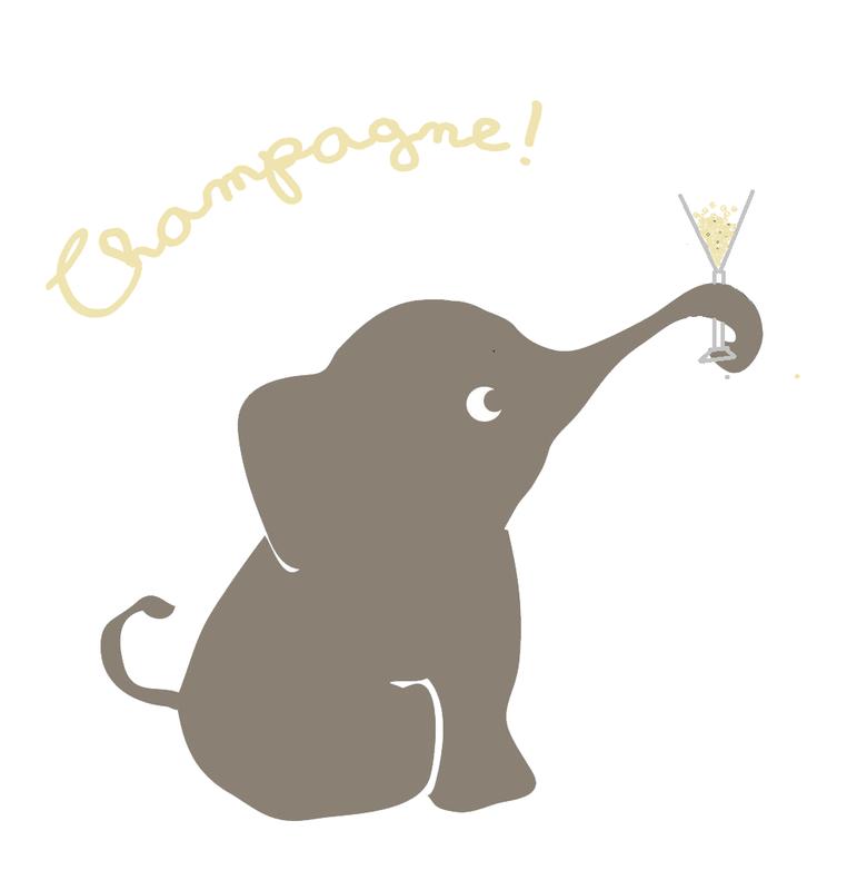 éléphant-champ