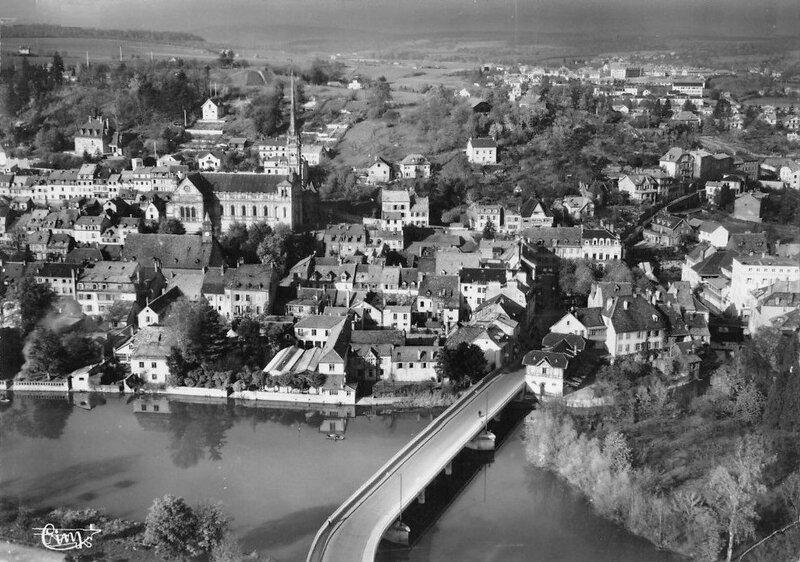 CPSM Montbeliard Entrée Pont de l'Allan