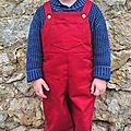 Le papa de jojo, le spécialiste de la salopette pour les petits aventuriers