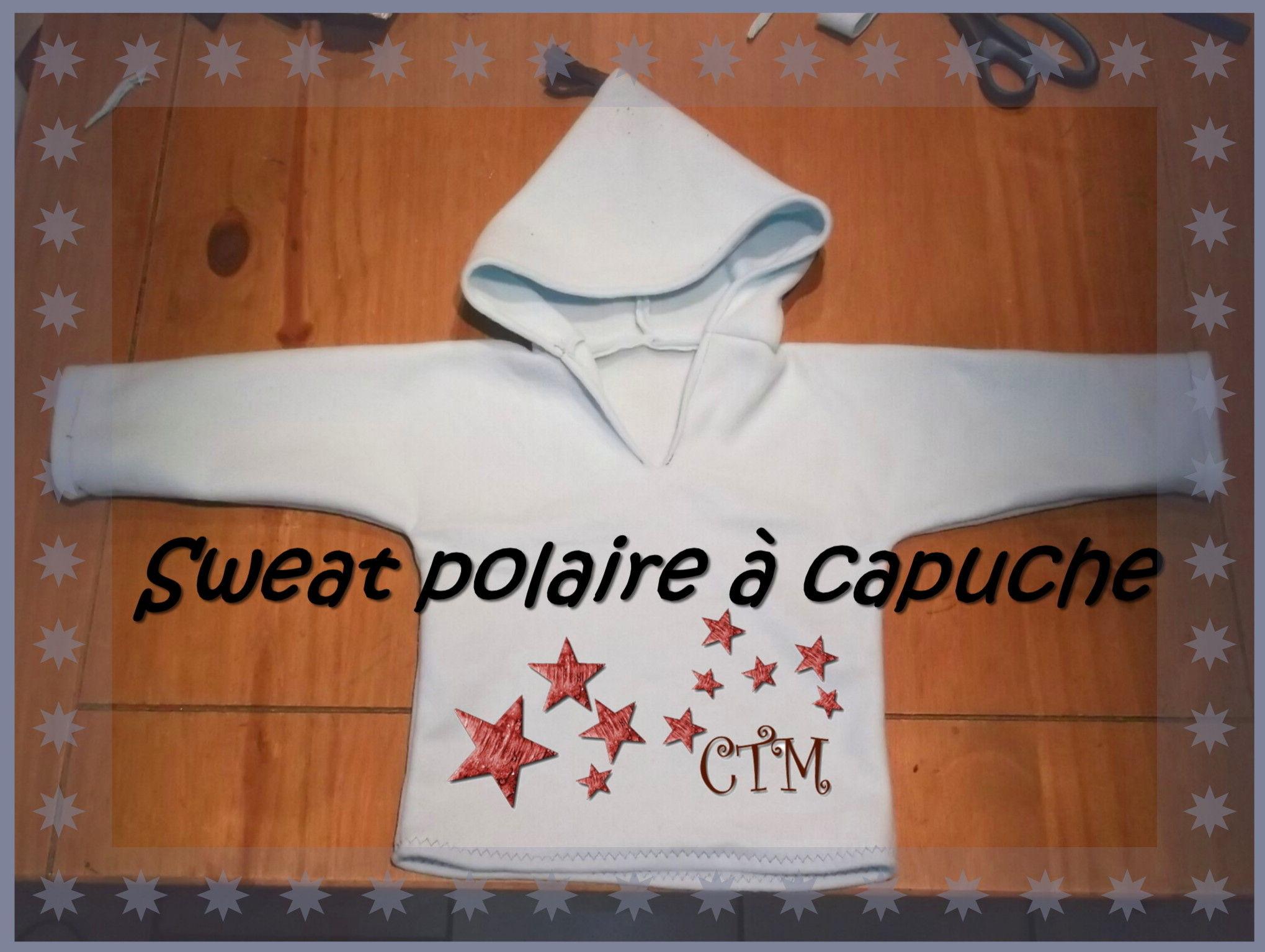 patron couture polaire bebe