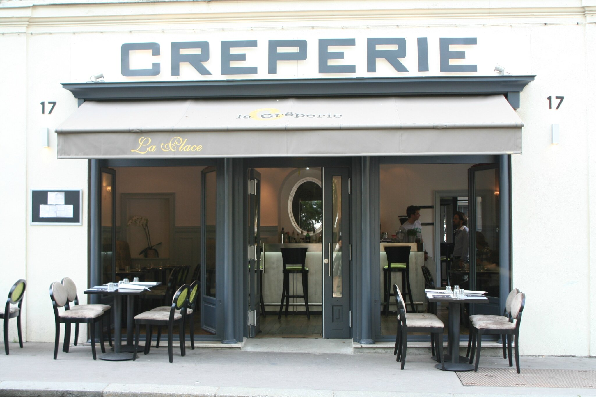 Home interior for Agencement cuisine creperie
