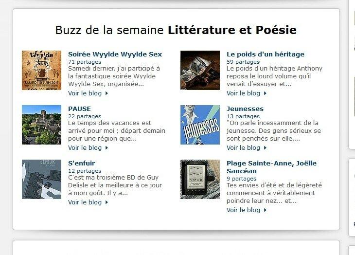 Buzz blog