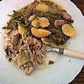 cuisse de poulet crème pomme de terre et haricot vert (cookéo)