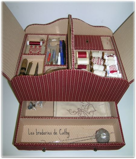 la boite couture de cathy photo de cartonnage