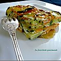 Courgettes et patates douces.