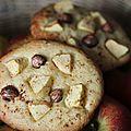 Mes jumbles pommes/noisettes/cannelle ou biscuits à la casserole.