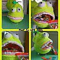 The serial crocheteuses n°216 : je suis comestible, je suis principalement jaune et j'ai une grande gueule. qui suis-je ?