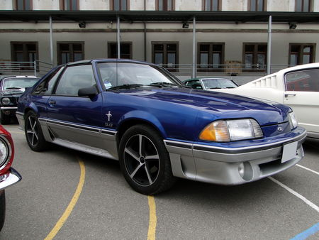 FORD mustang gt fox aero III 1987 1993 Bourse Echanges Autos Motos de Chatenois 2010 2