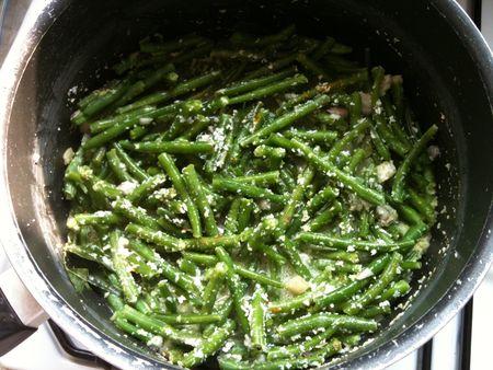 Payere barve haricots verts saut s la noix de coco - Cuisiner haricot vert ...