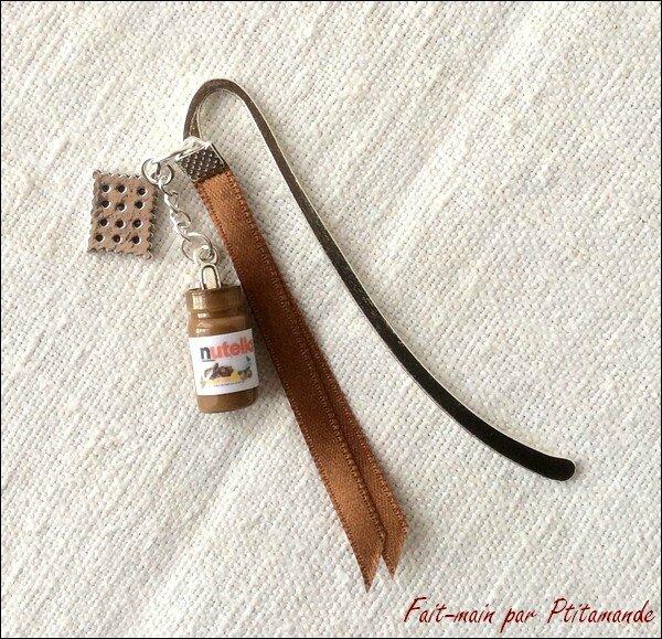 Marque page Nutella 1