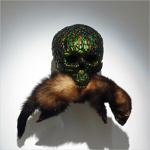 Souvent Jan Fabre, Skull - Photo de Vanités dans l'art moderne et  QH28